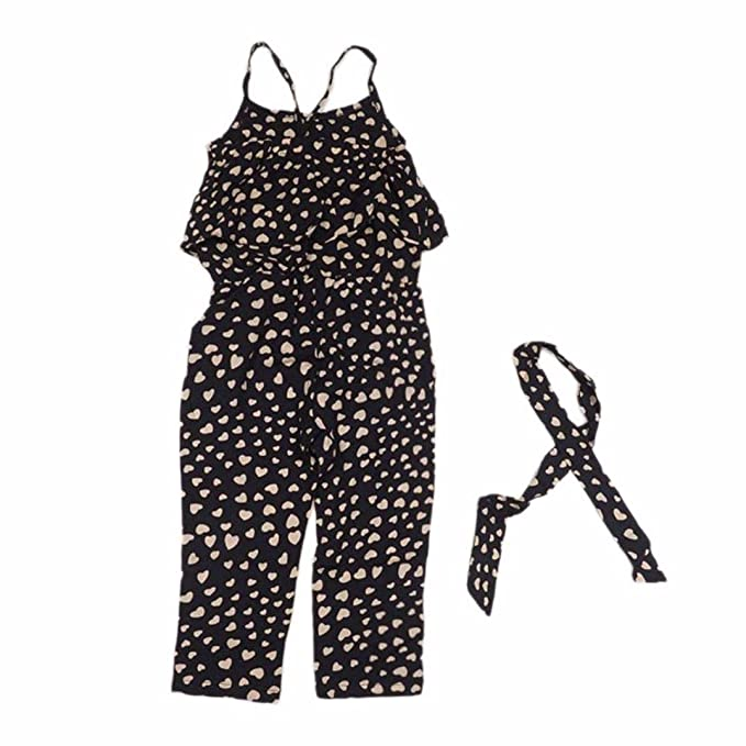 Niña bebé vestido,Sonnena negro-blanco rayas vestido sin manga vestido para pequeño niñas