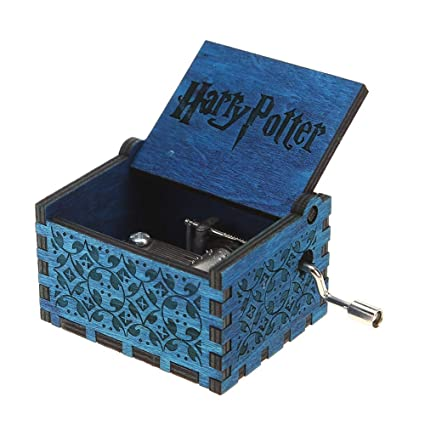 Domybest Caja de Música de Madera, Caja de Música de Sacudida de la Mano,
