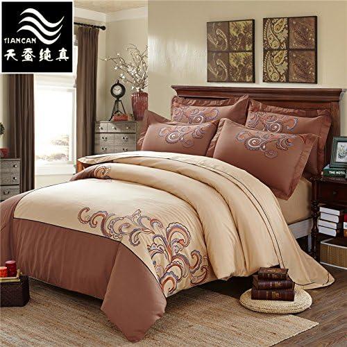 Americana algodón mercerización cuatro set , 1.8m (6 feet) bed ...