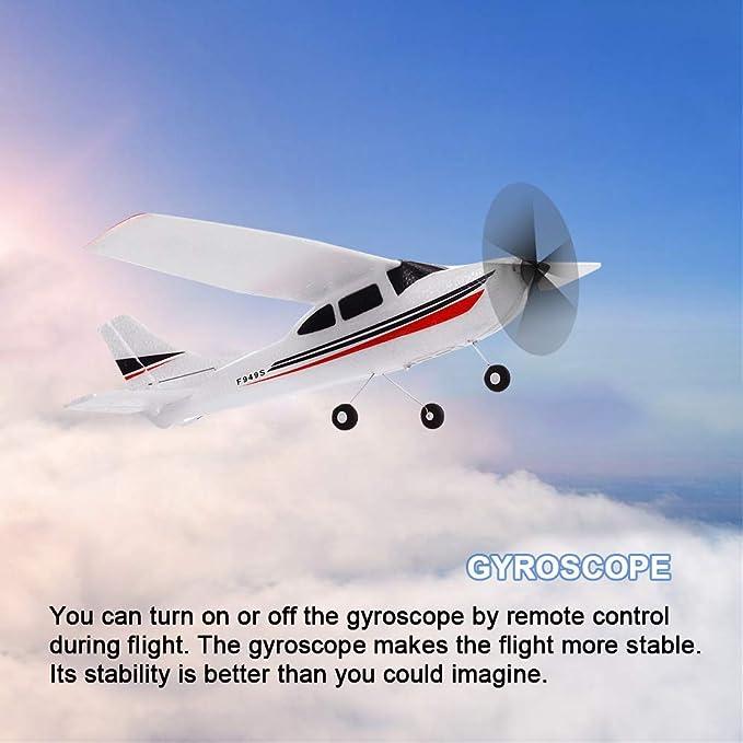 JJRC Control Remoto Aviones Cuatro Ejes Tierra y Aire Dual-Mode Aircraft un Solo bot/ón Volviendo patr/ón de balanceo de Regalo Remoto Aviones no tripulados de Control ni/ños