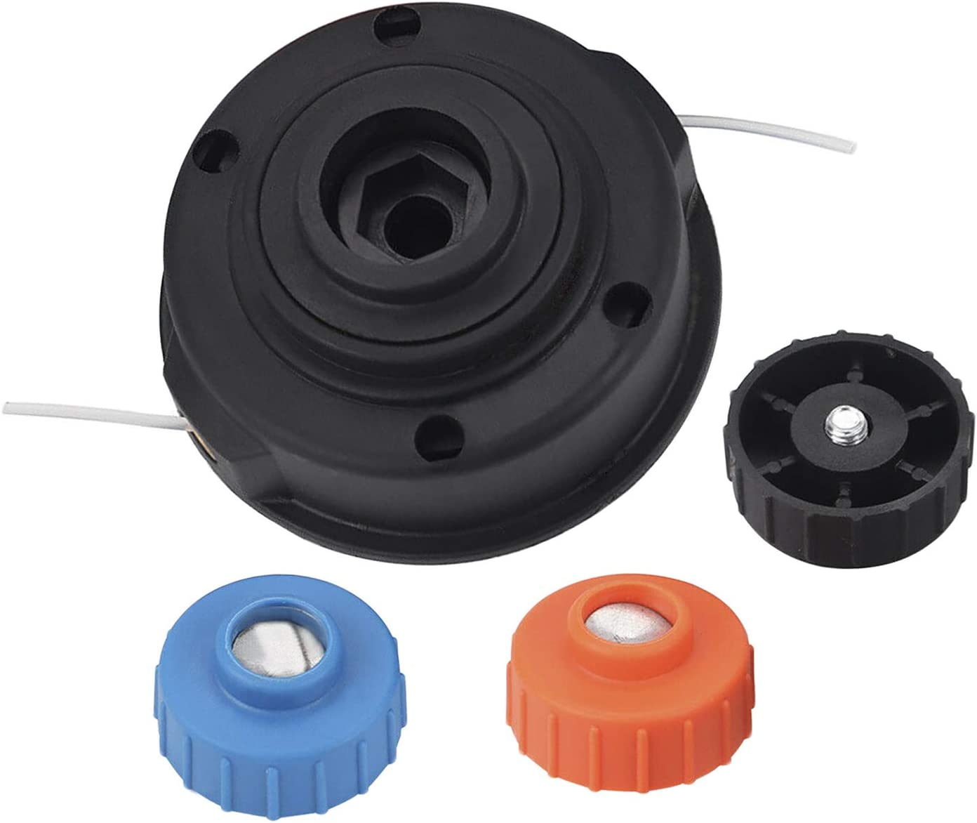 Yieking 000998265 Trimmer Head Bump Feed for Homelite Ryobi fits Homelite ST155 ST165 ST175 ST275 ST285 Ryobi RY30040A RY30040B SS30(RY30040) SS30(RY30043) String Trimmer Replaces DA04591A UP04650A