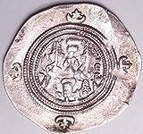 SASSANIAN DIRHEM KING KHUSRO II 590%2D62