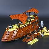Modbrix 05090 Jabba Barge Khetanna Schiff, Konstruktionsspielzeug Baukasten, 821 Bausteine