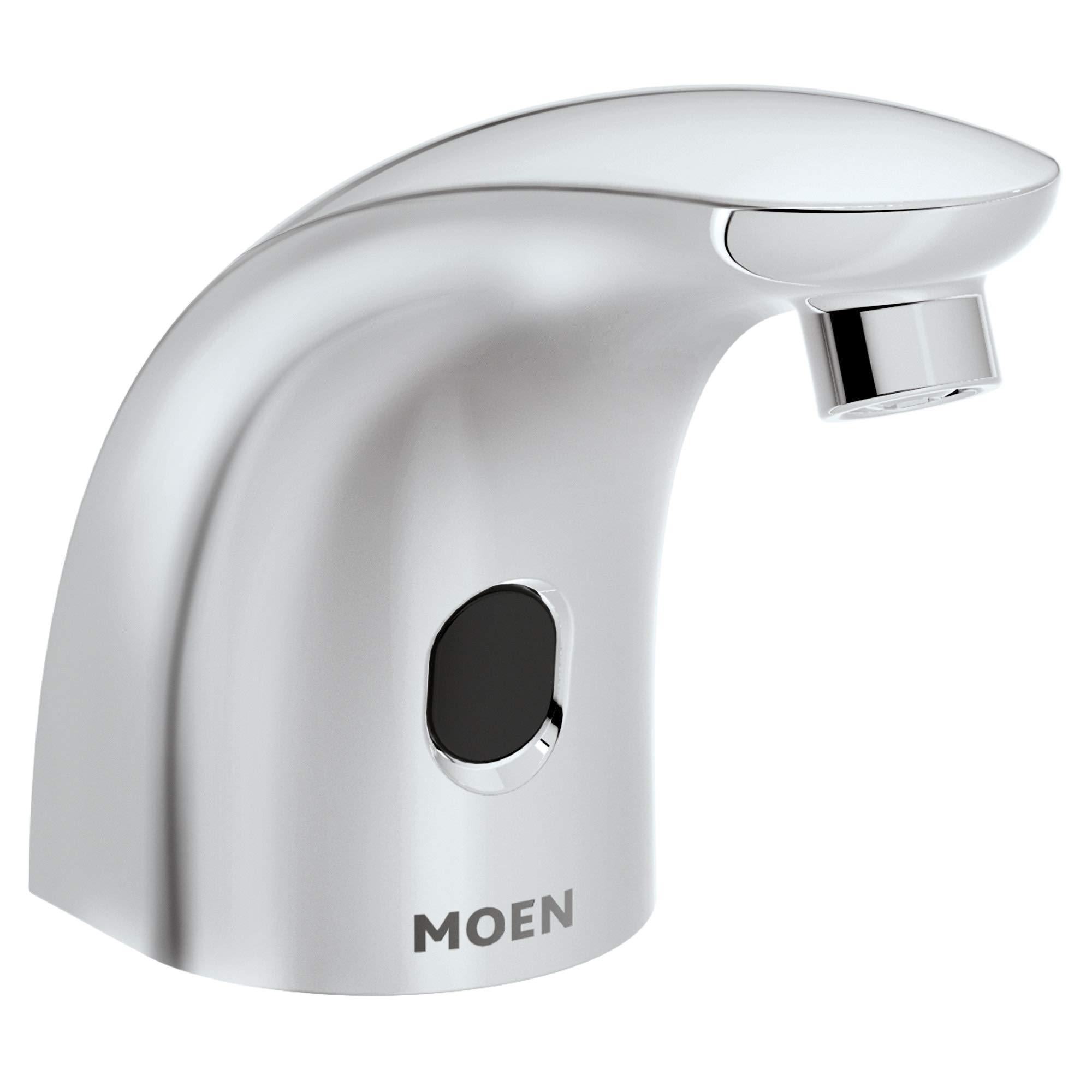 Moen 8558 M-Power Commercial Deck Mounted Touchless Foam Soap Dispenser, Chrome
