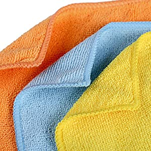 NM Microfiber Cleaning Cloth for Polishing , Wiping Dust, Absorbing Water