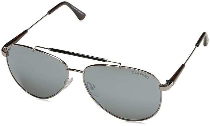 Amazon.com: Tom Ford para hombre Rick Aviator anteojos de ...