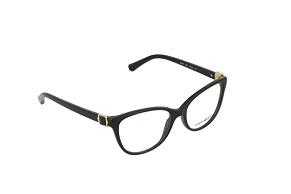 db7cc3e3a05 Image Unavailable. Image not available for. Colour  Emporio Armani Women s  3077 Black Frame Plastic Eyeglasses ...