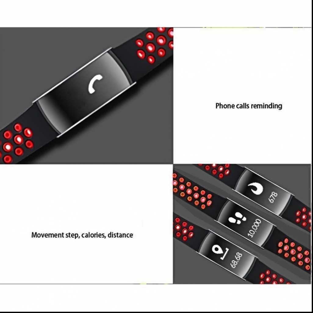 Pulsera Inteligente, Pulseras Fitness Inteligentes Pulsómetros Modo ...