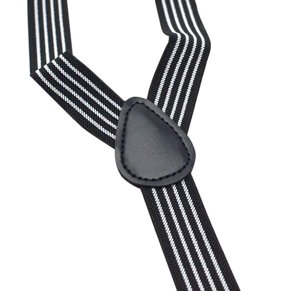 Lucoo Kids Baby Boys Party Matching Braces Bow Tie and Suspenders Set Y Back Adjustable