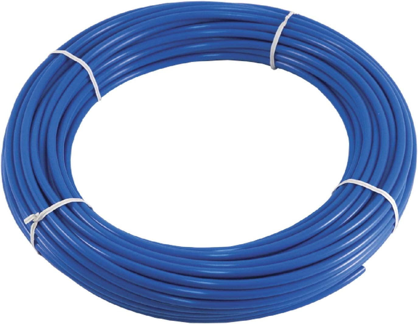 Polyethylene PE Tubing 100ft – for Water Filtration, Reverse Osmosis RO, Purifier, Aquarium, ATO, Refrigerator, Ice Maker and More – Blue Food Grade BPA Free Pipe – Quick Connect and Push Fitting Co