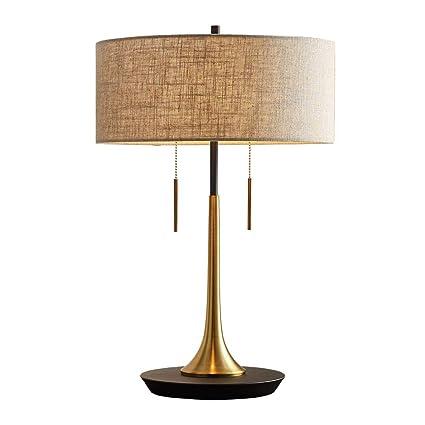 Amazon.com: WPCBAA Lámpara de mesa de Europa del Norte ...