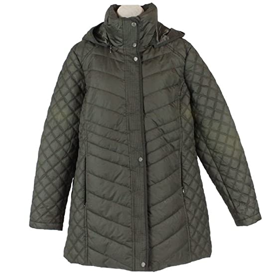 Marc New York Andrew Marc Quilted Walker Hooded Women's Jacket ...