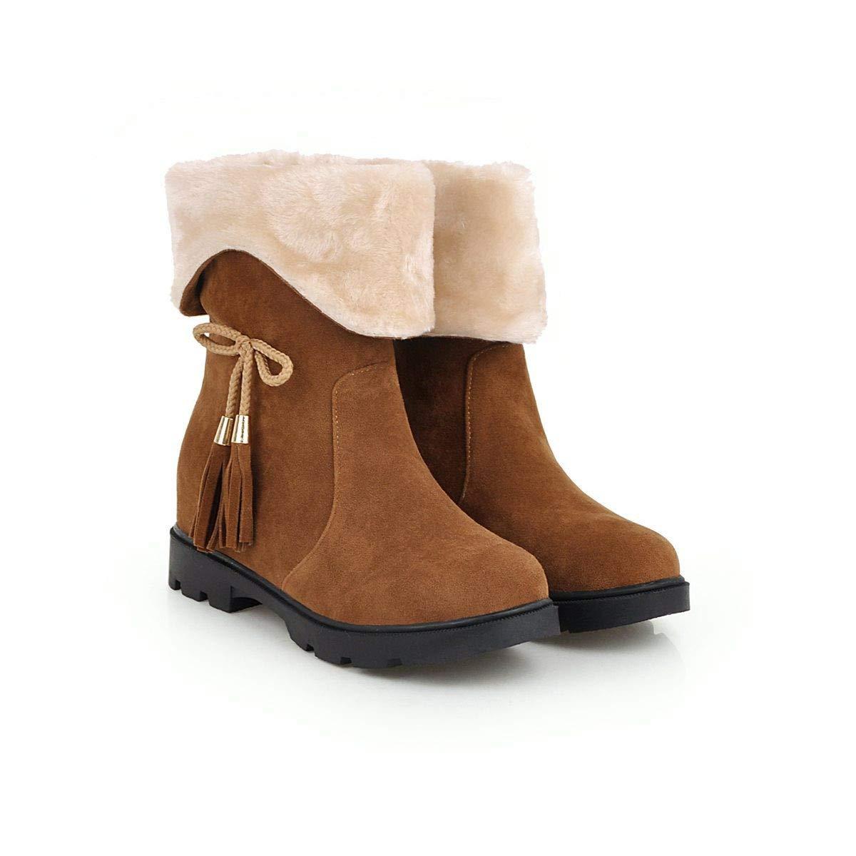 Flache süße Studenten Studenten Studenten des Herbstes und des Winters in den Stiefeln schneien die Stiefel der Frauen 25b8b0
