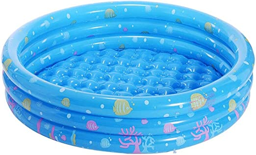 LYM & bañera Plegable Piscina Inflable portátil del baño de la ...