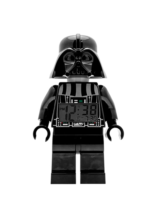 LEGO Star Wars Darth Vader Mini-Figure Clock