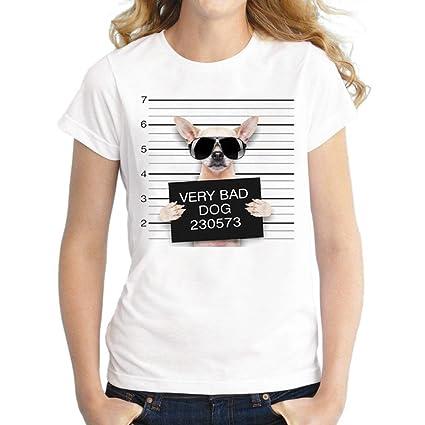LILICAT® Camisetas de Las Mujeres Más Tamaño de Algodón, (S ~ 3XL)