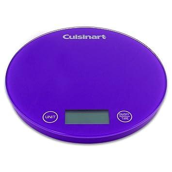 Cuisinart FS-1PR Digital Kitchen Scale - Purple
