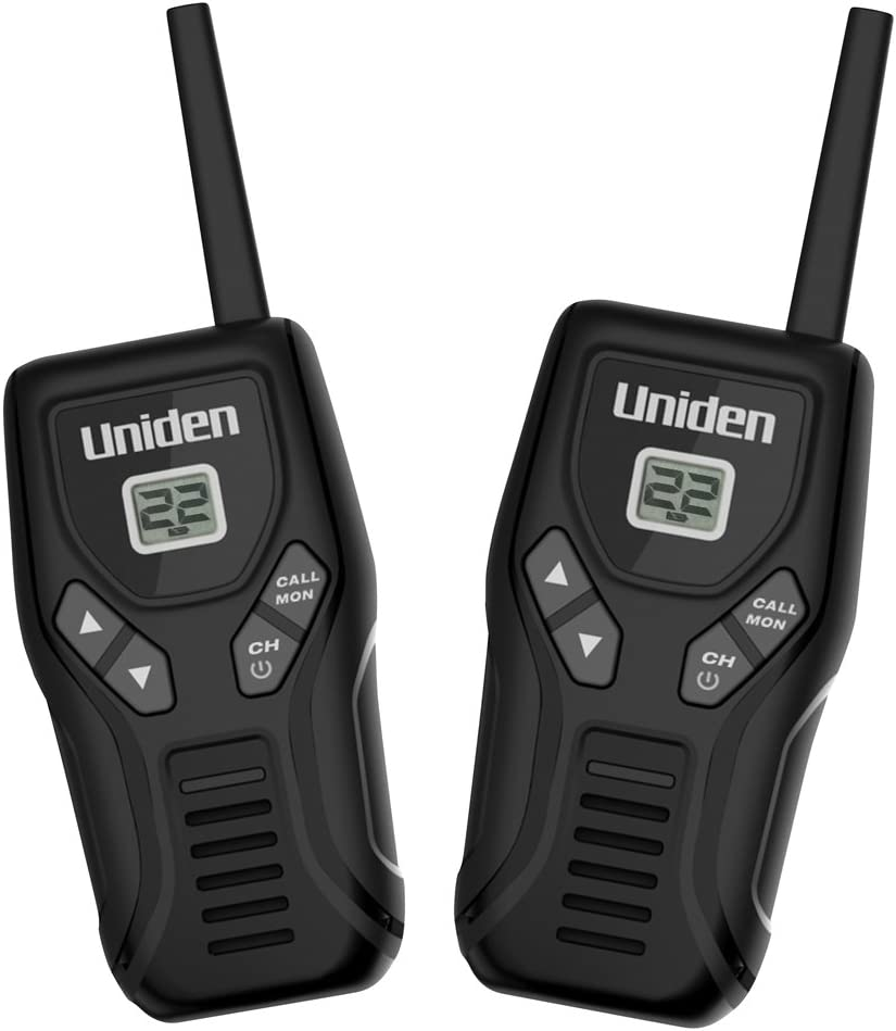 Uniden GMR2050-2C GMRS/FRS Two-Way Radio with Charger, Black