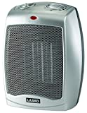 Lasko Ceramic Heater with Adjustable Thermostat - Calefactor Silver