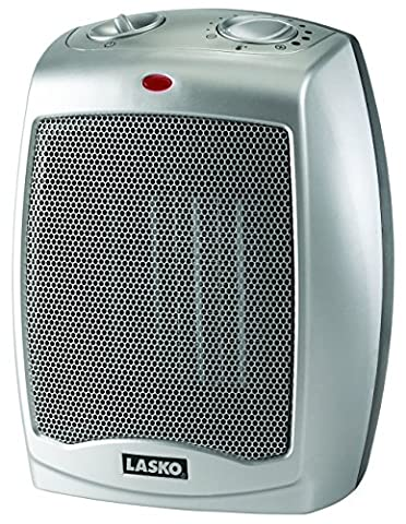 Lasko 754200 Ceramic Heater with Adjustable Thermostat (Space Heater Office)