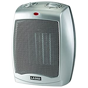 Lasko 754200 Ceramic Portable Space Heater with Adjustable Thermostat – Perfect For the Home or Home Office