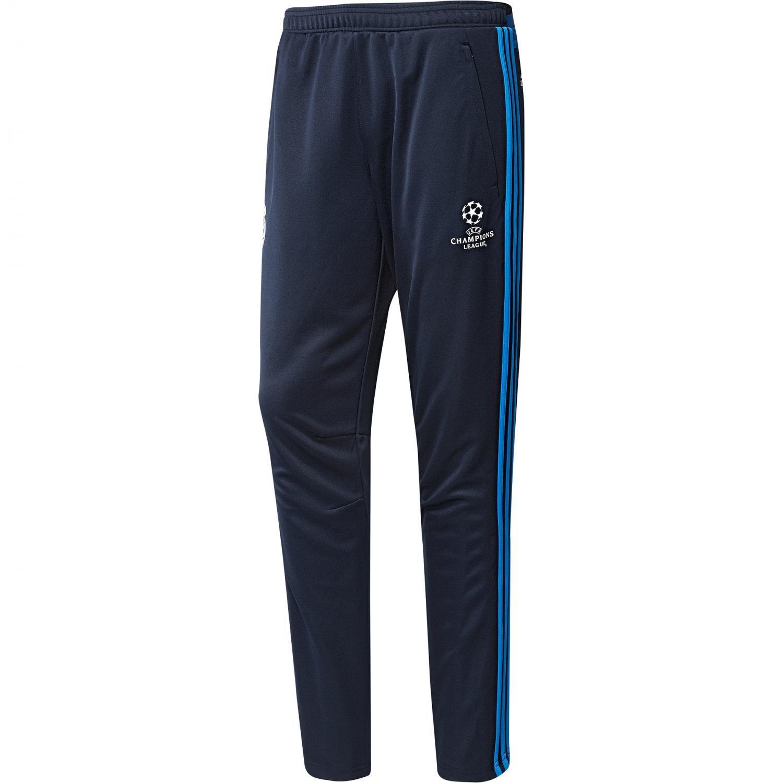 Adidas Herren Real Madrid UCL Trainingshose-Blau Torwarthosen