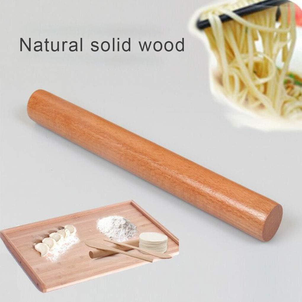 YILONG Non-stick Kitchen DIY Rolling Pin Wooden Baking Pizza Restaurant Fondant Cake Dough Wood Roller
