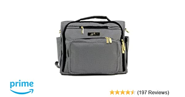 fd253c58be2f Amazon.com   JuJuBe B.F.F Multi-Functional Convertible Diaper  Backpack Messenger Bag