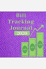Bill Tracking Journal 2020 Paperback