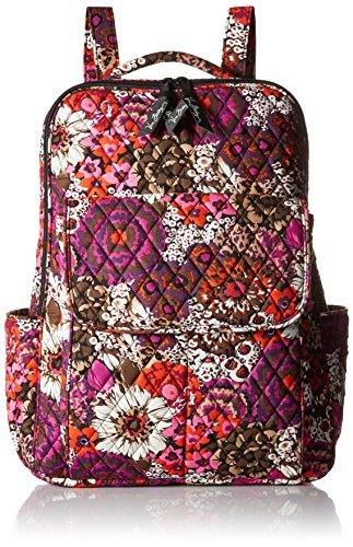 Vera Bradley Ultimate Fashion Backpack, Rosewood, One Size