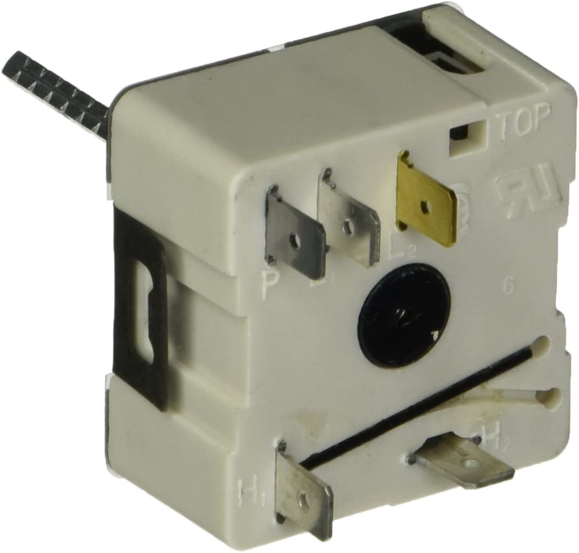 Robertshaw 5500-200 Uni-Kit Universal Electric Range Infinite Switch, Push To Turn