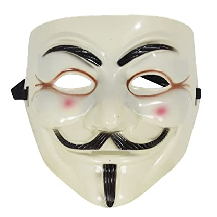 Mascara - TOOGOO(R) Mascara de Guy Fawkes EV a IE para Mascara Vendetta