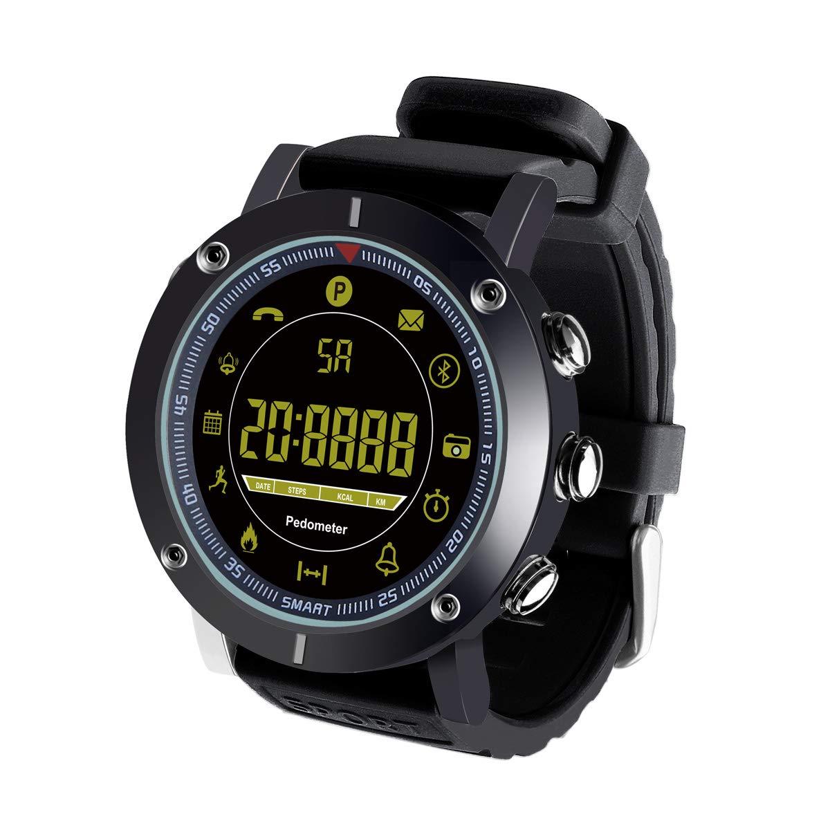 Smartwatch Impermeable IP68 Reloj inteligente Reloj Deportivo Hombre Mujer Fitness tracker Pulsera Actividad para Android y IOS