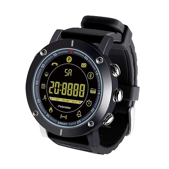 Smartwatch Impermeable IP68 Reloj inteligente Reloj Deportivo Hombre Mujer Fitness tracker Pulsera Actividad para Android y IOS: Amazon.es: Relojes