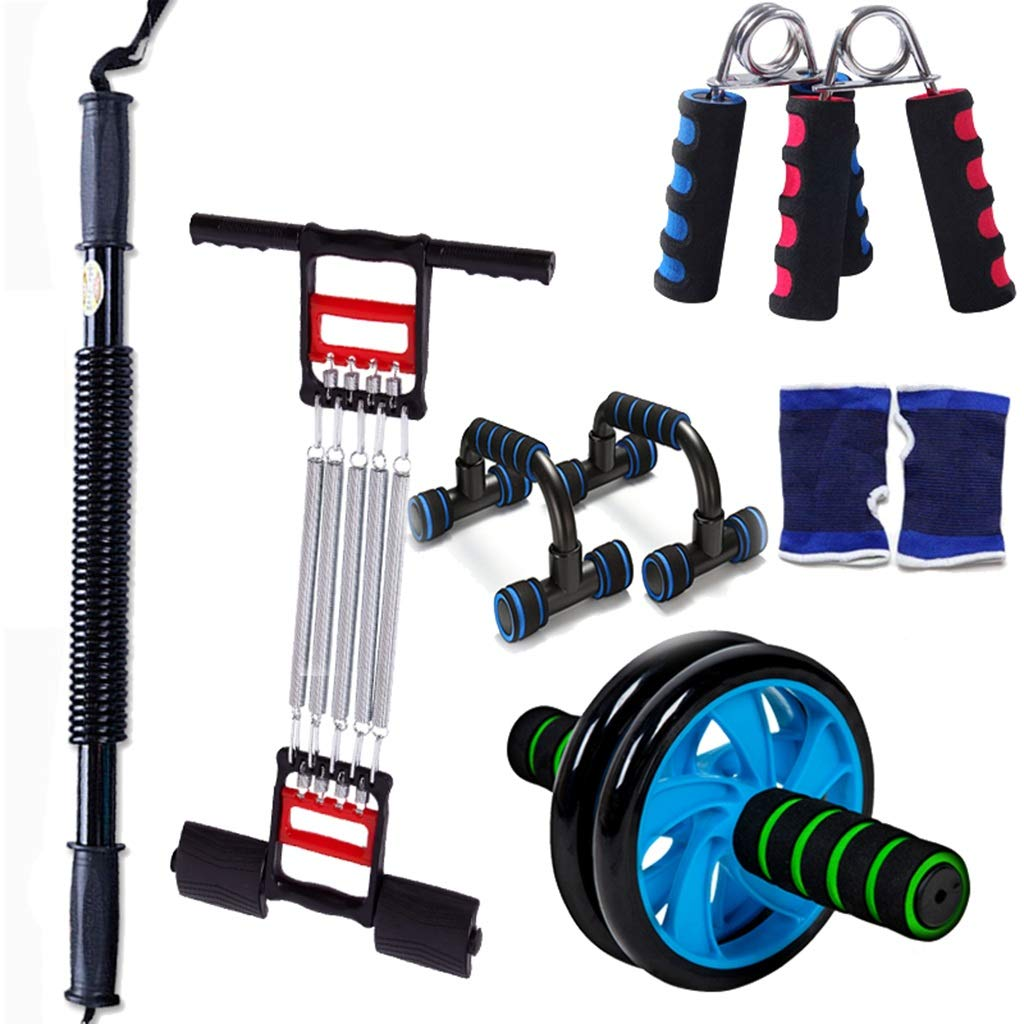 HWH 体重運動器具、家庭の男性と女性の腕の腹部運動器具を失うグリップ多機能プーラースーツ 多目的 B07HKFX23W 50KG|C C 50KG