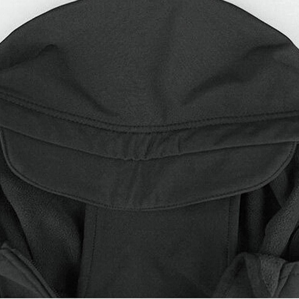 Chaqueta de Hombre de BaZhaHei, Ropa de la Capa de los Hombres Chaqueta de Invierno Impermeable Camisetas de Hombre de Shell Suave Cazadora Ropa de Escalada ...
