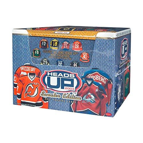 2003 Sweater - 2003-04 Pacific Heads Up Sweater Edition Hockey Hobby Box