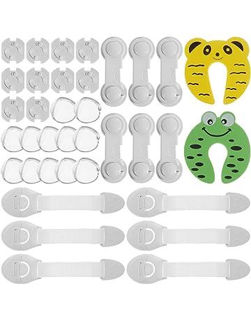 7c94b9a868b Rovtop 36Pcs Kit de sécurité pour enfants avec 6 verrous de sécurité pour  enfants