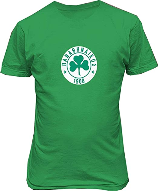 OPO-T Camisetas Hombre Personalizado Panathinaikos FC Greece ...
