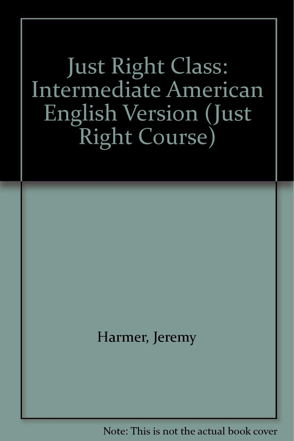 Download Just Right Class: Intermediate American English Version (Just Right Course) pdf