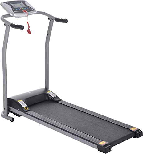 Folding Treadmill Electric Motorized Walking Running Machine Exercise Fitness Trainer Equipment