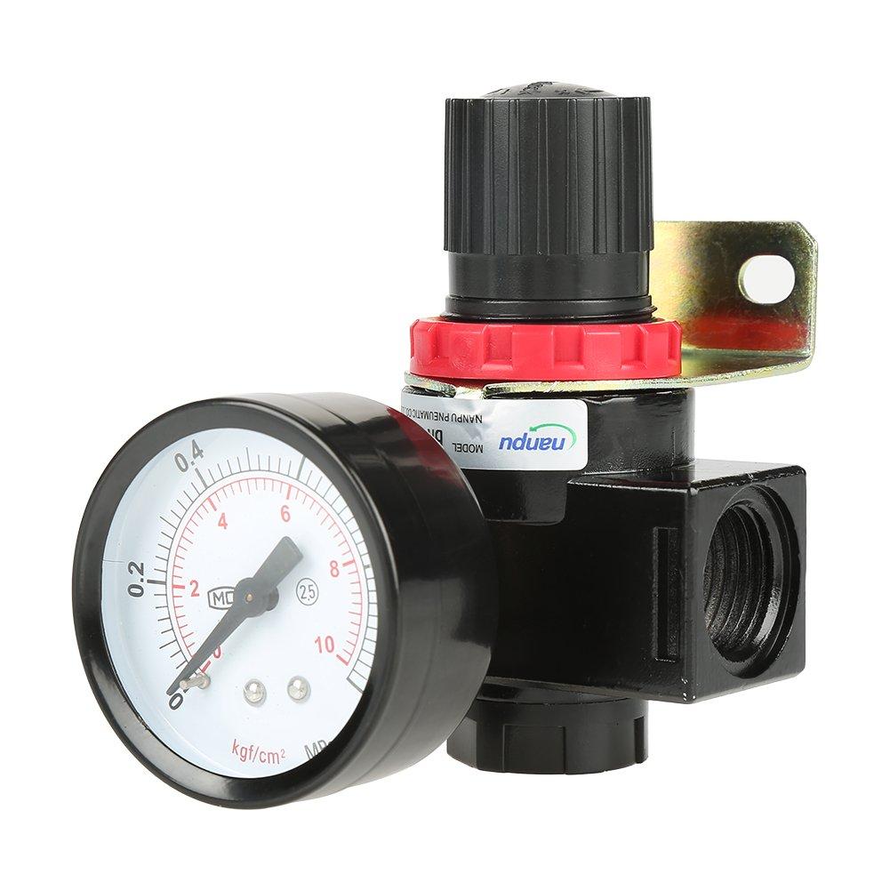 Air Pressure Regulator Air Pressure Compressor Pressure Regulating Valve BR4000 G1/2 Aramox