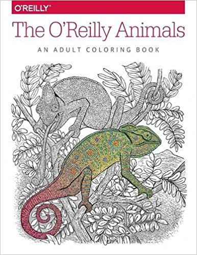 Amazon The OReilly Animals An Adult Coloring Book 9781491955963 Inc Media Books