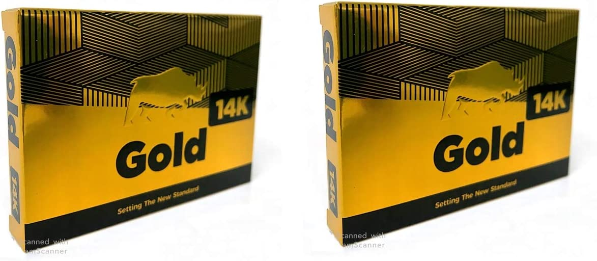 14K Gold Special Edition Fast Acting Male Amplifier for Strength, Performance, Energy, and Endurance 20capsules