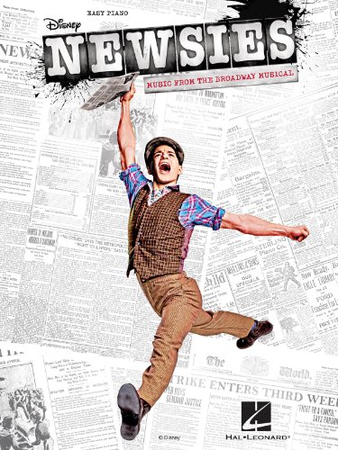 Hal Leonard Newsies - Music From The Broadway Musical For Easy Piano (Newsies Sheet Music)