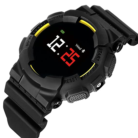 Hangang MX Smart Watch Fitness Tracker Tensiómetro de pulso reloj Smart Relojes Bluetooth agua Densidad Outdoor Reloj Activity Tracker Sport Watch Pulsera ...