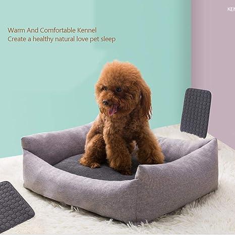 Bloomma Cama autoalimentada Nido para mascotas Estera para perros Invierno Cálido lavable Perro pequeño y mediano
