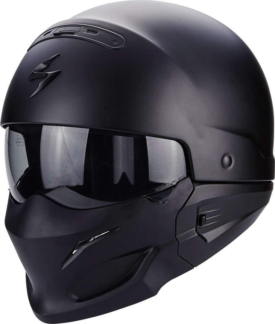 Scorpion – Cascos Moto Exo Combat Negro Mate