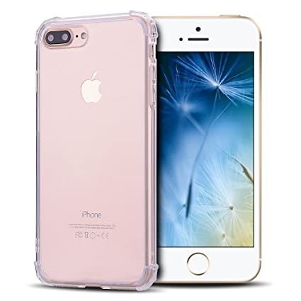 Anfire Funda iPhone 7/8 Plus, Carcasa de Transparente y ...