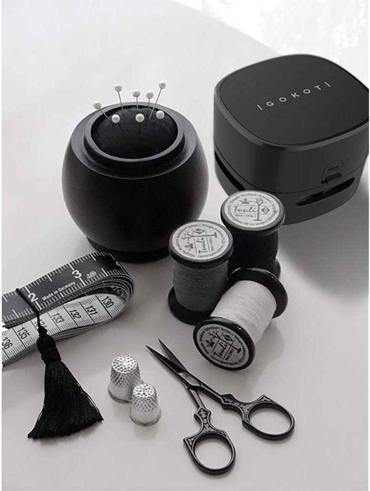 Vacuum Cleaner Mini,Mini Vacuum,Tabletop Vacuum Battery Operated,Desktop Little Dust Sweeper Energy Saving Design by IGOKOTI no Battery Included